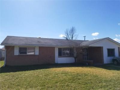 Dayton Single Family Home For Sale: 4144 Nevada Avenue