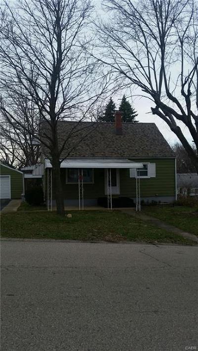Dayton Single Family Home For Sale: 1925 Suman Avenue