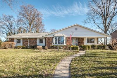Kettering Single Family Home Active/Pending: 2375 Hemphill Road