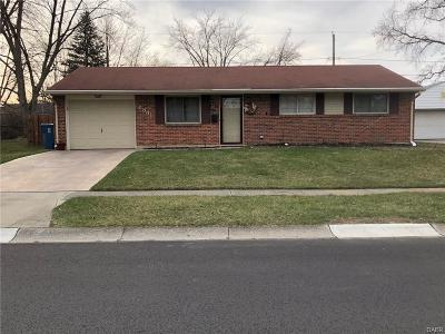 Dayton OH Single Family Home For Sale: $95,000