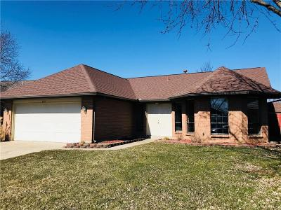 Dayton OH Single Family Home For Sale: $165,000