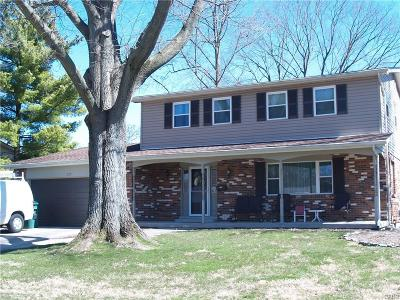 Kettering Single Family Home For Sale: 5172 Tahitian Place