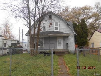 Springfield OH Single Family Home For Sale: $38,999