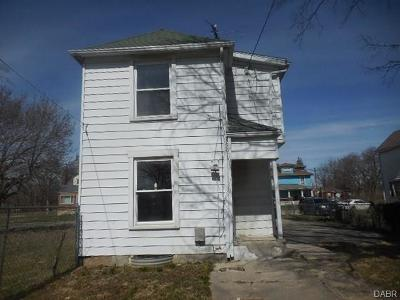 Dayton OH Single Family Home For Sale: $7,900