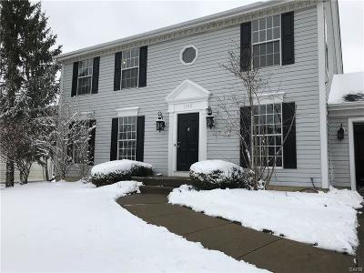 Miamisburg Single Family Home Active/Pending: 1115 Bonniebrook Drive