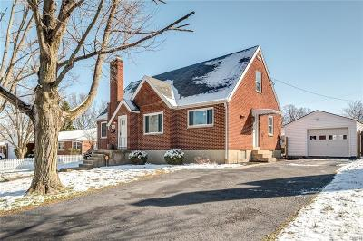 Xenia Single Family Home Active/Pending: 725 West Street