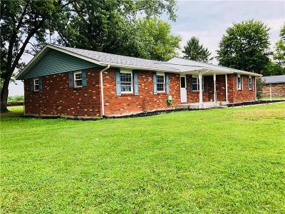 Brookville Single Family Home Active/Pending: 6789 Preble County Line Road