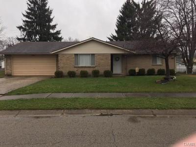 Tipp City Single Family Home Active/Pending: 630 Rohrer Drive
