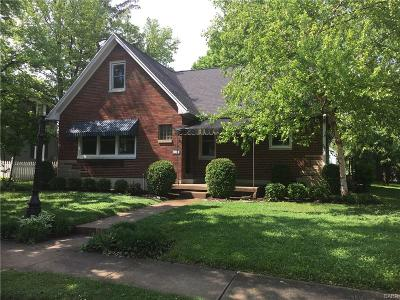 Tipp City Single Family Home For Sale: 553 Broadway Street