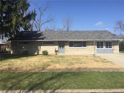 Dayton Single Family Home For Sale: 4577 Hannaford Street