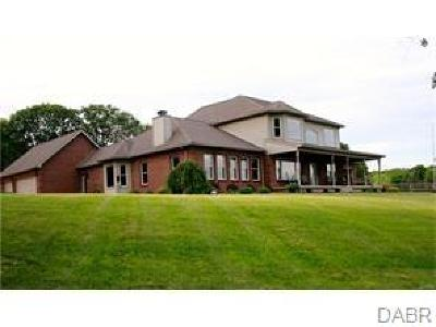 Fairborn Single Family Home For Sale: 4309 State Route 4