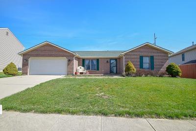 Xenia Single Family Home For Sale: 1299 Glen Kegley Drive