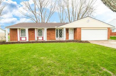 Bellbrook Single Family Home For Sale: 4405 Knob Hill Drive