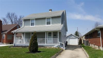 Springfield OH Single Family Home For Sale: $55,000