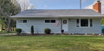 Huber Heights Single Family Home Active/Pending: 9501 Artz Road