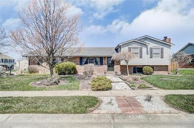 Miamisburg Single Family Home Active/Pending: 1803 Cudgel Drive