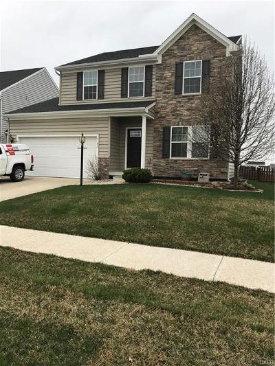 Tipp City Single Family Home Active/Pending: 3193 Coneflower Drive