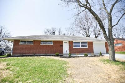 Dayton OH Single Family Home For Sale: $129,500