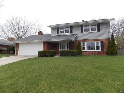 Fairborn Single Family Home For Sale: 247 Bowman Drive