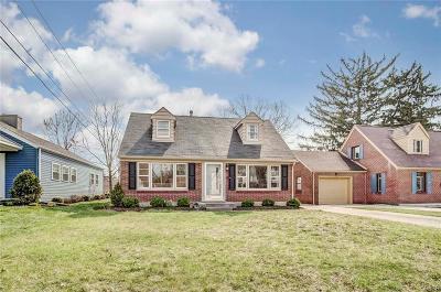 Springfield Single Family Home For Sale: 1768 Walnut Terrace