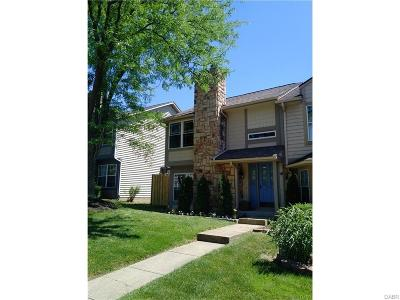Dayton OH Condo/Townhouse For Sale: $109,000