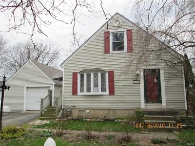 Dayton OH Single Family Home For Sale: $37,500