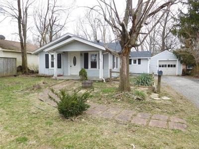 Dayton OH Single Family Home For Sale: $38,000