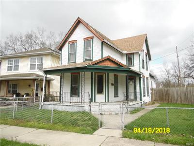 Dayton OH Single Family Home For Sale: $14,900
