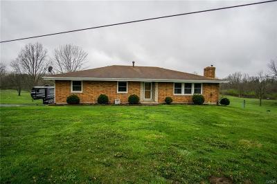Xenia Single Family Home For Sale: 1070 Cincinnati Avenue