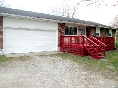 Tipp City Single Family Home For Sale: 155 Ginghamsburg Road