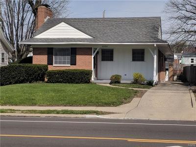 Oakwood Single Family Home For Sale: 2604 Shroyer Road