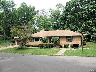 Kettering Single Family Home For Sale: 3560 Echo Spring Trail