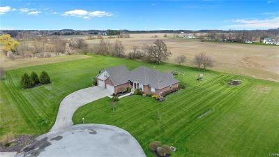 Brookville Single Family Home For Sale: 9050 Getter Lane