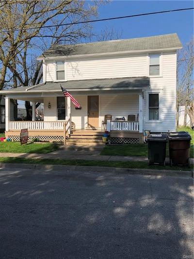 Trotwood Single Family Home For Sale: 7 Pleasant Avenue