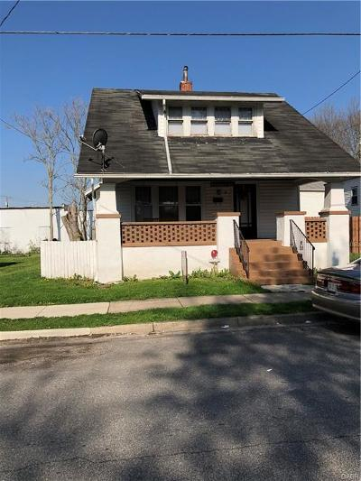 Trotwood Single Family Home Active/Pending: 9 Pleasant Avenue
