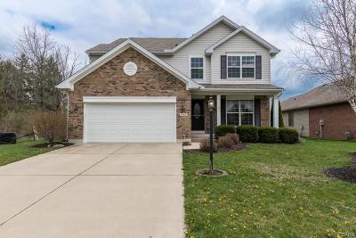 Tipp City Single Family Home For Sale: 345 Krystal Ellen Drive