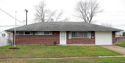 Huber Heights Single Family Home Active/Pending: 5307 Seaman Drive