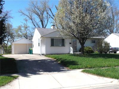 Kettering Single Family Home Active/Pending: 3007 Purdue Drive