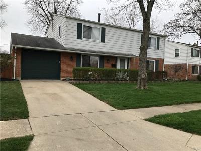Huber Heights Single Family Home Active/Pending: 7150 Mandrake Drive