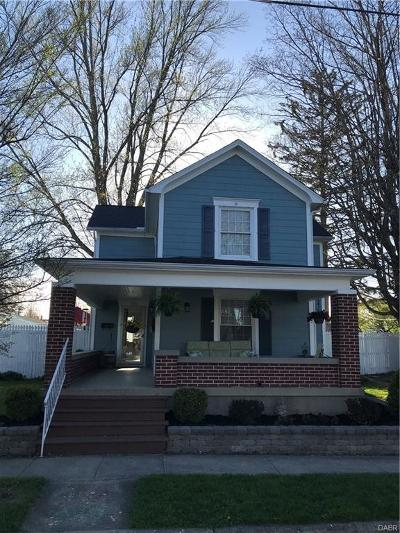 Tipp City Single Family Home Active/Pending: 125 1st Street