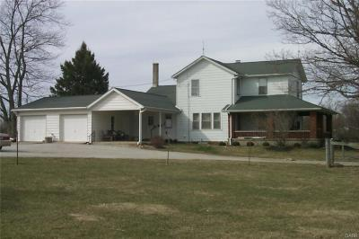 Brookville Single Family Home For Sale: 6267 Diamond Mill Road