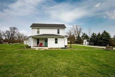 Tipp City Single Family Home Active/Pending: 5601 County Road 25a