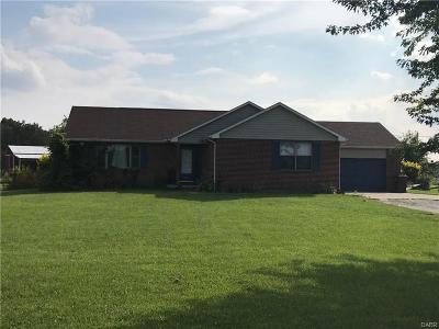 New Carlisle Single Family Home For Sale: 7615 Detrick Jordan Pike