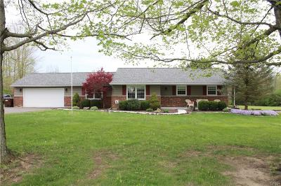 West Milton Single Family Home Active/Pending: 5450 Monroe Concord Road