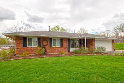 Dayton Single Family Home Active/Pending: 2640 Bellsburg Drive