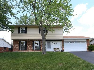 Huber Heights Single Family Home For Sale: 7240 Claybeck Drive