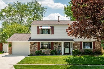 Huber Heights Single Family Home Active/Pending: 6136 Longford Road