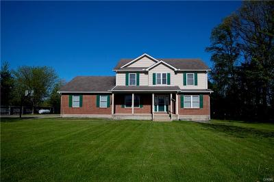 Single Family Home For Sale: 7400 Springfield-Jamestown Road