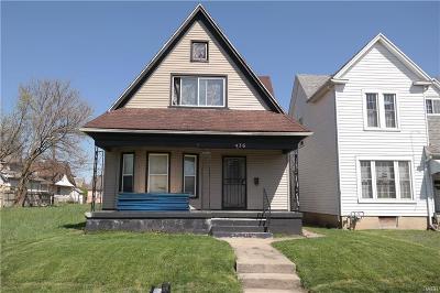 Dayton Single Family Home For Sale: 436 Deeds Avenue