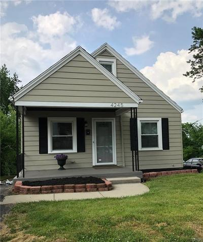 Dayton Single Family Home For Sale: 4245 Woodcliffe Avenue